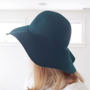 J Crew teel green hat